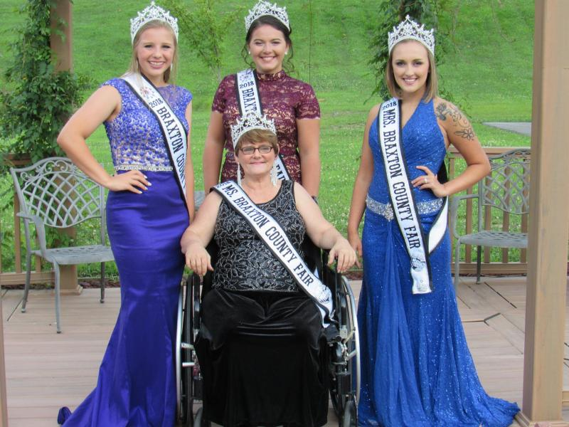 2018 Braxton County Fair Pageant adults