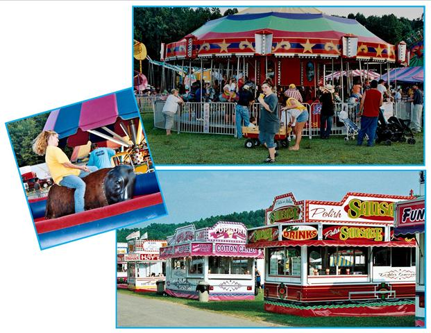 Braxton County Fair carnival